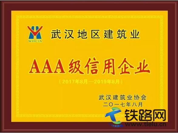 武汉地区建筑业AAA级信用企业.png