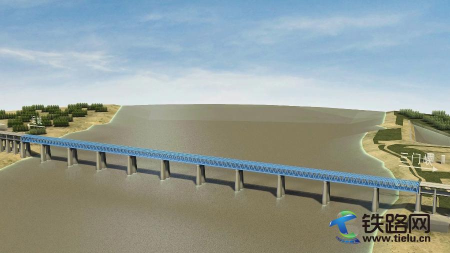 三门峡黄河公铁两用大桥效果图.jpg