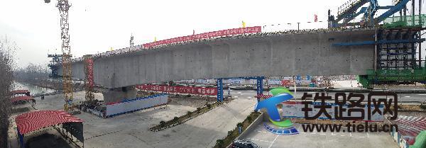 双沟特大桥转体连续梁43号主墩T构全景图.jpg