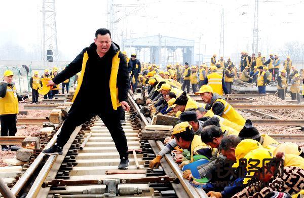 新建郑万铁路郑州东
