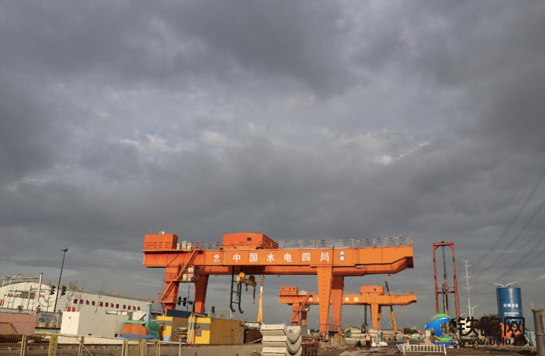 中國水電四局紹興地鐵2號線越王路站附屬B號口旋噴樁施工完成