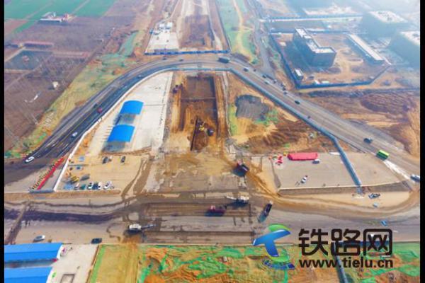 中铁七局五公司郑州航空港项目志洋路下穿四