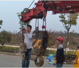中国水电四局武汉地铁11号线二标项目部开展起重吊装专项检查
