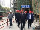 国务院安委办督导组莅临中铁尚城二期・麓苑项目部检查指导
