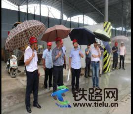 广东省珠海市质监站检查鹤港高速公路一期工程HGTJ4标质量安全