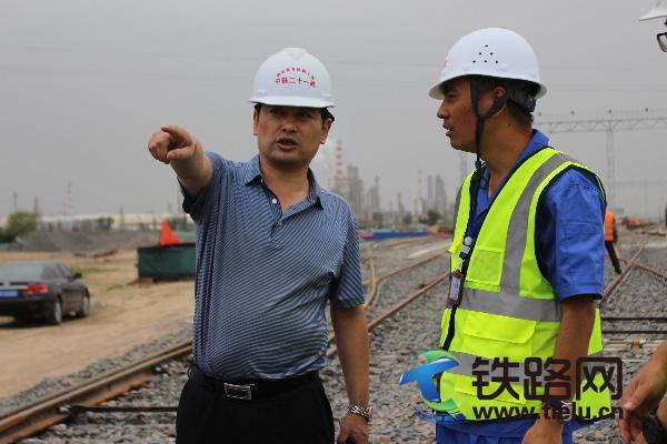 中铁二十局集团第二工程有限公司总经理卢长