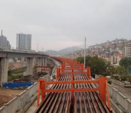 穗莞深城际铁路迈出坚实一步:全线正式开始铺轨