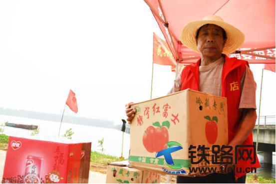 中国水电四局武汉地铁7号线五标项目慰问 驻