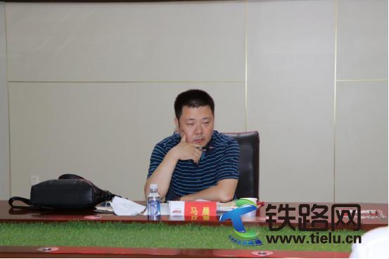 天津市人社局职业能力建设处领导莅临 中铁十