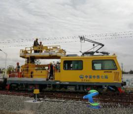 中铁七局电务公司参建的上海地铁14号线封浜车辆段冷滑圆满完成